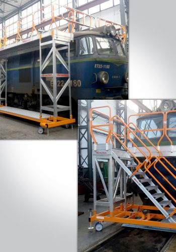 Special ladder for Polish railways PKP Cargo